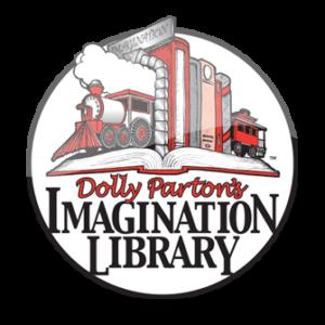 Dolly Parton's Imagination Library logo.