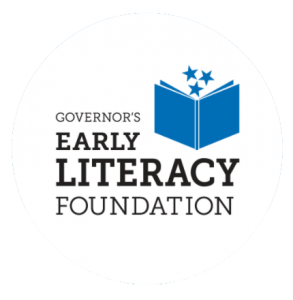 Governors Early Literacy Foundation logo.